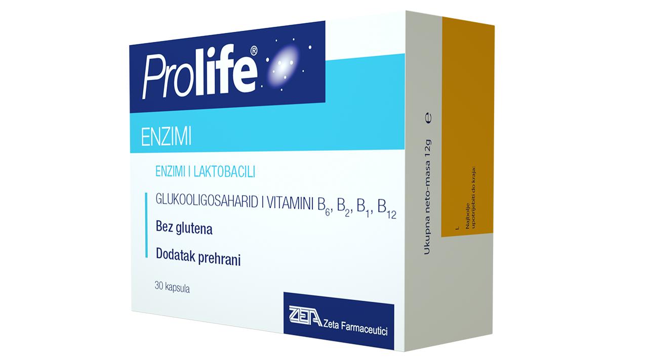 Prolife enzimi, kapsule