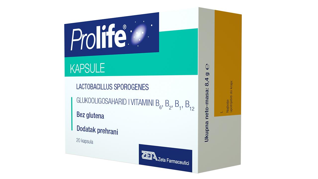 Prolife, kapsule