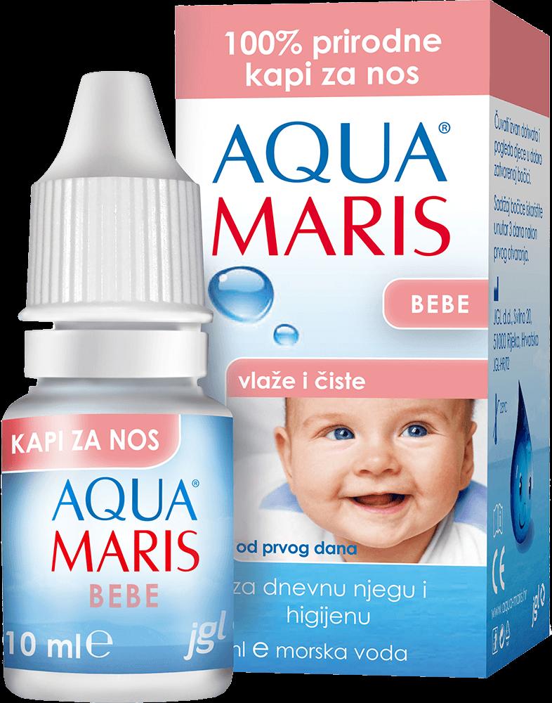 AQUA MARIS BEBE nasal drops