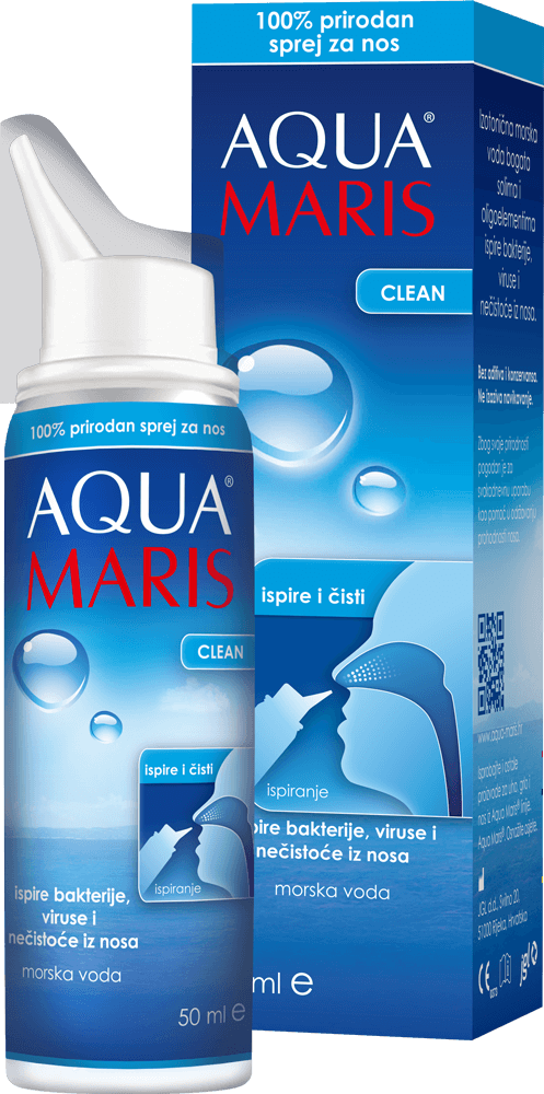 AQUA MARIS CLEAN, sprej za nos, 50 ml
