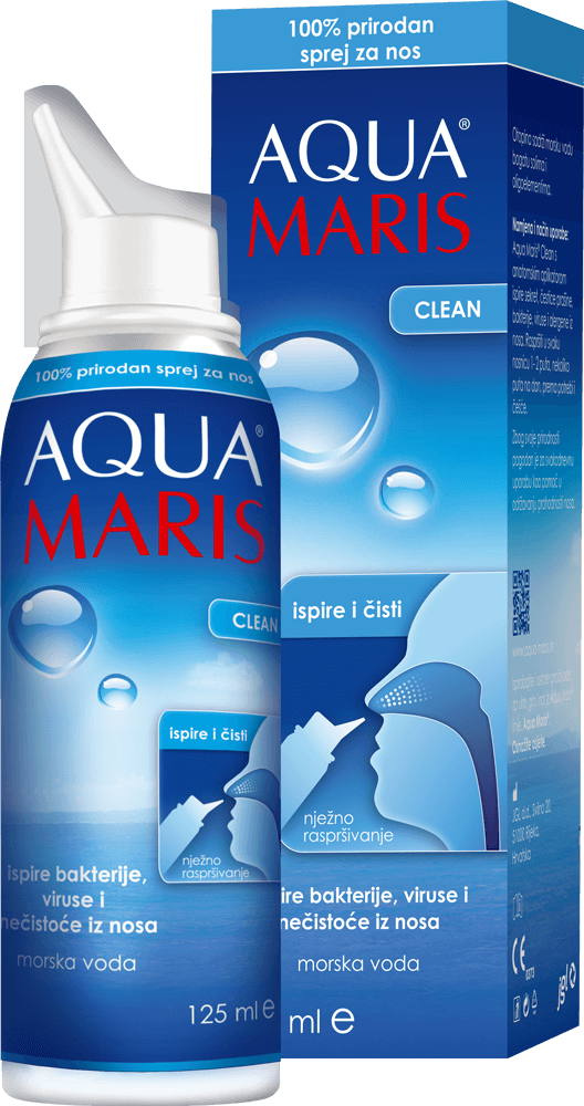 Aqua Maris Clean, sprej za nos, 125 ml