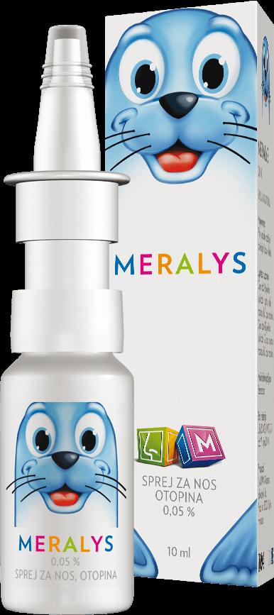 MERALYS 0.5 mg / ml nasal spray