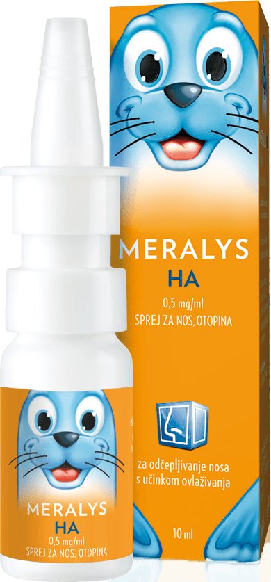 MERALYS HA 0,5 mg / ml sprej za nos