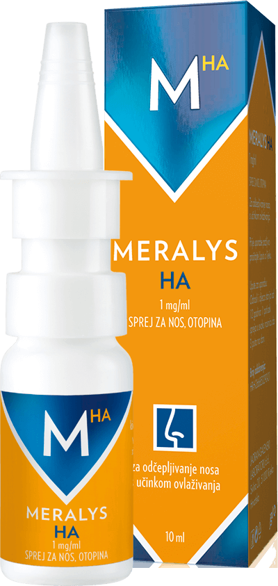 Meralys HA 1 mg / ml sprej za nos
