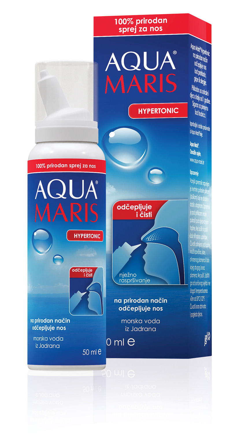 AQUA MARIS HYPERTONIC nasal spray