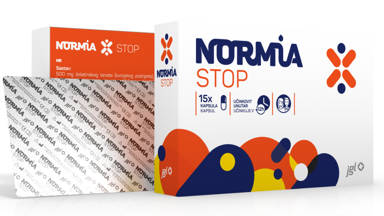 Normia Stop, 15 capsules